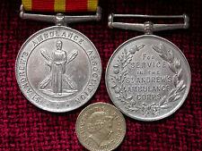 Replica Copy St. Andrew's Ambulance Association, Ambulance Corps Service Medal