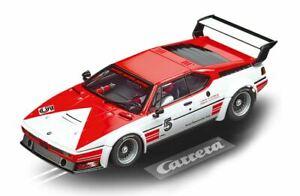 Carrera 1:24 scale 23902 - BMW M1 Procar #5 Niki Lauder - slot car with lights