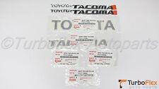 Toyota Tacoma SR5 1998-2004 Door & Tailgate 7 Emblem Kit Genuine OEM