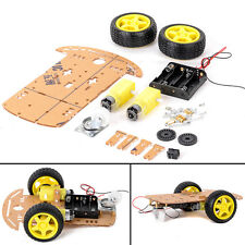 New Smart Motor Robot Car Battery Box Chassis Kit DIY Speed Encoder For Arduino