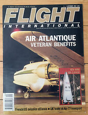 FLIGHT INTERNATIONAL Magazine Sept 1993 AIR ATLANTIC Veteran Benefits
