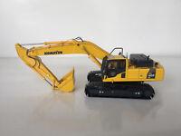 1/50 KOMATSU PC400LC-8 Excavator Metal Tracks Diecast Model Toy