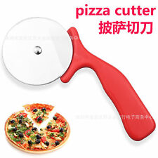 Hot Stainless Steel Cake Pizza Pastry Cutter Wheel Slicer Blade Knives Tool