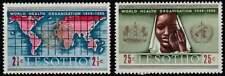 Lesotho postfris 1968 MNH 45-46 - WHO 20 Jaar (k022)