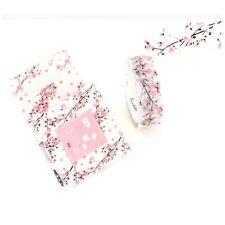 15MM*7M Adhesive Masking Sticker Washi Tape Scrapbooking Label Romantic Sakura
