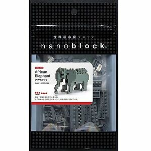 African Elephant Nanoblock NBC 035
