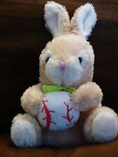 Dan Dee Collector's Choice Baseball Softball Plush Stuffed Animal Bunny Rabbit