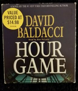King & Maxwell: Hour Game by David Baldacci (2008, CD, Abridged)