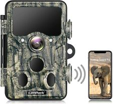 Campark WiFi Bluetooth Trail Camera 20MP 1296P Game Hunting Camera