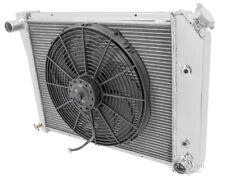 """ALUMINUM RADIATOR FAN SHROUD W// 16/"""" FAN 1979-1987 BUICK REGAL ELECTRA 21/"""" CORE"""