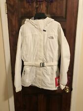 The North Face Girl Greenland Jacket White  Size XL