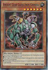 YU-GI-OH CARD: ANCIENT GEAR GADJILTRON CHIMERA - SR03-EN006 - 1ST EDITION