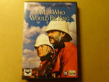 DVD / THE MAN WHO WOULD BE KING ( SEAN CONNERY, MICHAEL CIAINE... )