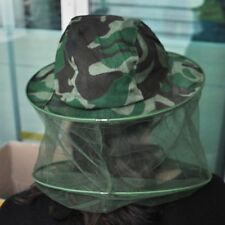 Mosquito Insect Net Camouflage Fishing Mask Face Protecting Hat DPM