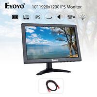 Eyoyo 10 1920x1200 LED Screen Display AV VGA BNC HDMI IPS Monitor Lightweight