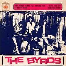 "BYRDS ""THE WORLD TURNS AROUND HER"" ORIG PORT EP M- RARE"