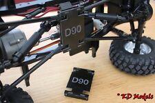 Centro piastra paramotore per gelande D90 LANDROVER Crawler RC4WD