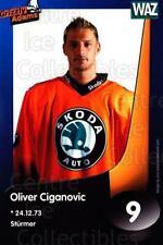 2002-03 German Wolfsburg Grizzly Adams Postcards #2 Oliver Ciganovic