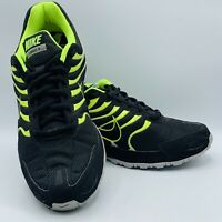 Nike Air Max Torch 4 Men's Black Green Athletic Running Shoes 343846-011 Sz 11.5