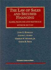 Law of Sales and Secured Financing (University Casebook Series) by Honnold, Joh