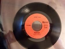 1970 EXC RARE Johnny Cash A Thing Called Love / Daddy  4-45534  45