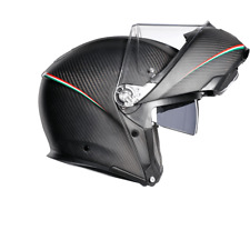 Agv Sportmodular Tricolore Carbon Reduced