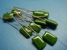 (10) ICC .047uF 100V 5% RADIAL POLYESTER FILM CAPACITOR AUDIO