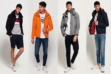 Superdry Mens Hooded Technical Pop Zip Sd-Windcheater Jacket