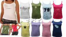 Unbranded Cotton Crew Neck Sleeveless T-Shirts for Women