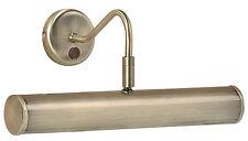 ENDON Spatola 2LT 355mm LUCE IMMAGINE 6.2 W antico effetto ottone piatto