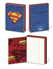 SUPERMAN- DAILY PLANET- JOURNAL EMBLEM- SUPERHERO MARVEL NOTEBOOK SCHOOL SUPPLY!