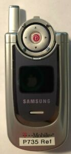 READ BEFORE Samsung SGH P735 (T-Mobile) Cell Phone Fast Shipping Refresh Vintage