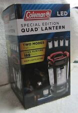 Coleman Special Edition Quad Lantern LED NEW