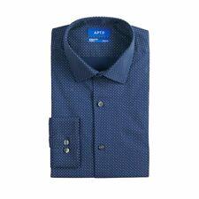 Men's Apt. 9® Slim-Fit Wrinkle-Resistant Dress Shirt Polka Dot (L 16-16.5 32/33)