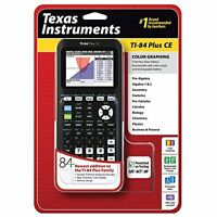 Texas Instruments TI-84 Plus Ce Graphing Calculator Black Ti 84 Ce Very Good