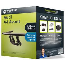 Anhängerkupplung WESTFALIA abnehmbar AUDI A4 Avant +Elektrosatz Kit (AHK+ES)