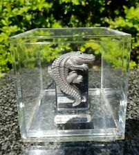ZIPPO, 3D CROCODILE IN ACRYLIC CUBE, LIMITED EDITION ((EXTREMELY RARE))