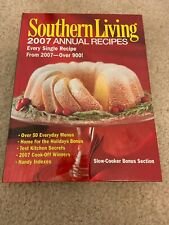 Southern Living Cook Book 2007 Annual Recipes Over 900 Recipes