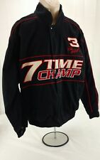 DALE EARNHARDT  Mens Jacket Size L 7 Winners Circle Time Champ 7 time champ