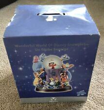 DISNEY Wonderful World of Disney Snowglobe, New in Box, Unopened, RARE