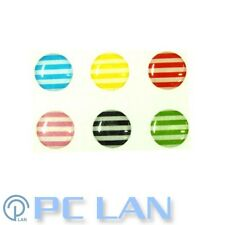 6 PCS Stripe Pattern Home Button Sticker for iPhone 3G/3S/4/4S + Bonus Set