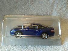 HIGHSPEED DIECAST MODEL CLASSIC SPORTS CAR PORSCHE TURBO BLUE