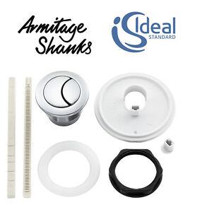 EV344AA Ideal Standard Armitage Shanks Push Button Spare Dual Flush Button