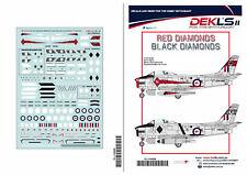 1/144 Avon Sabre - RAAF Black/Red Diamonds Aerobatic Teams  - DEKL's II