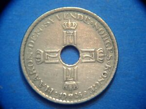 Norway Krone KM# 385 1925  A117  I COMBINE SHIPPING