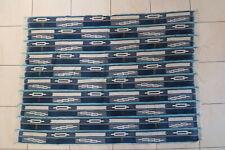 Altes Wickeltuch für Frauen Baule DF58 Old Bauole Cloth Tissu Afrozip