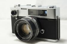 Konica Auto S Rangefinder 47mm F1.9 Checked Working As-Is [872027]