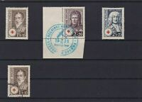 FINLAND 1936 RED CROSS MOUNTED MINT & USED STAMPS  REF 5755