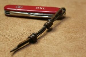 leather Knife Lanyard for victorinox knves