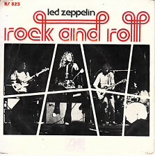 "7"" 45 TOURS ESPAGNE LED ZEPPELIN ""Rock And Roll / Four Sticks"" 1972"